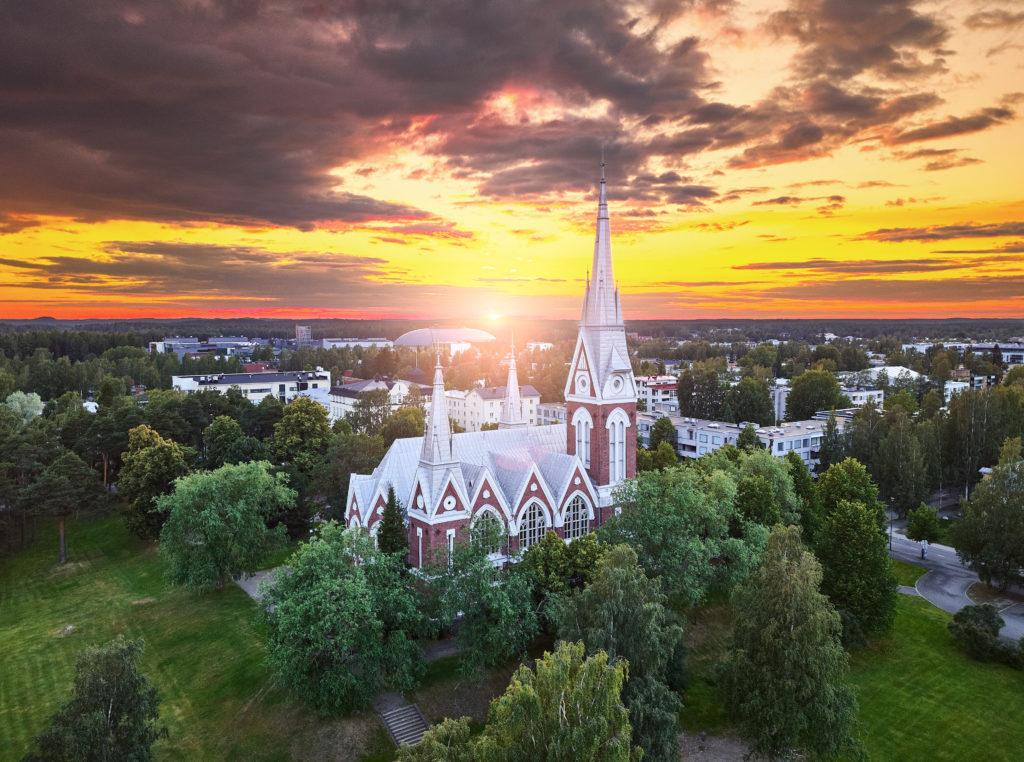 Joensuun kirkko kuva: AdobeStock